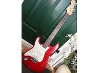 Stratocaster electric guitar Left Handed ideal beginner 1st guitar Decaled headstock