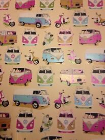 Camper van wall paper
