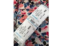 2 Vamps tickets for sale £30 each
