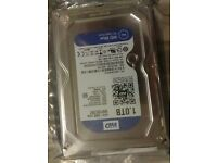 New! WD 1TB PC HDD