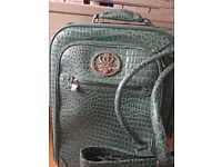 Kathy Van Zeeland designer Suitcase