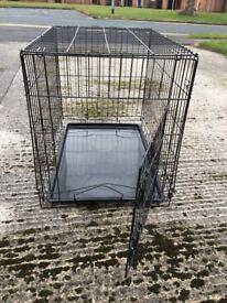 medium sized dog/pet cage