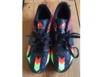 Adidas Messi Football Boots for Sale size 3 with moulded studs