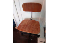 Vintage Danish Office Chair / Swivel Chair