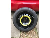 195/55 R15 Spare wheel and tyre