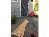 Free metal bed frame double