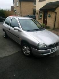 Low mileage!! Vauxhall Corsa Club 12v 2000