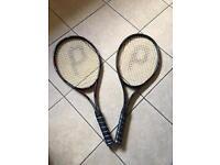 2 x Phillips Champion Tennis Rackets