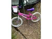 Girls bike suit 5-7 year old approx