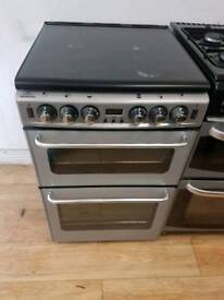 Newworld Dual Fuel Gas Cooker 55cm width. Free Local Delivery