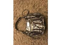 Karen Millen Silver Handbag