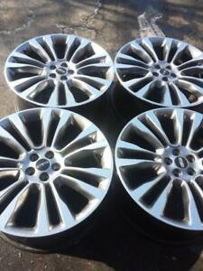 LIKE BRAND NEW  LINCOLN MKX  2016 FACTORY OEM 21 INCH  ALLOY WHEEL SET OF FOUR   NO SENSORS