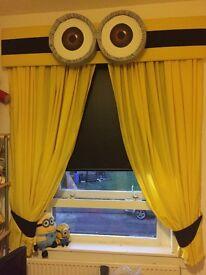 Minion pelmet and curtains
