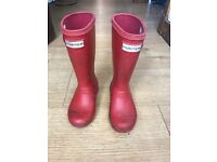Free hunter wellies size 10