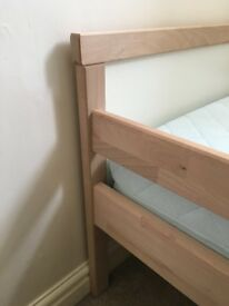 Ikea Sniglar Toddlers Bed And Underlig Mattress. Good Condition. Little Used. Grandma's Sleepover's