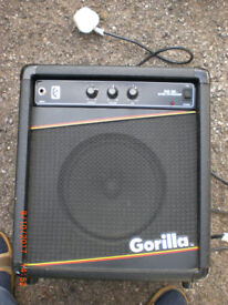 Gorilla Vintage guitar amplifier.