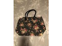 Rose sequin large handbag