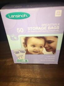 40 Lansinoh breastmilk storage bags