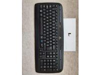 Logitech Cordless Keyboard K330 & Receiver