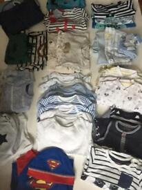 3-6m baby clothes for boys hardly used, perfect condition