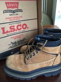 Vintage Levi boots