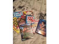 Books/dvd