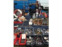 Outboards, rope & fenders at the Titchfield Boat Jumble Sunday 1st July