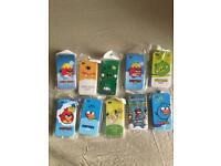 Angry bird I-phone cover cases for iphone 4, 4s clear must go £5 for 150pcs