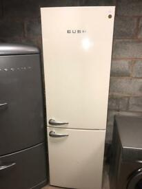 Large fridge freezer cream