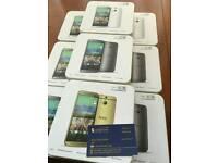 HTC One M8 16GB brand new pristine condition warranty with receipt in stock