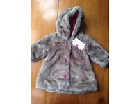NEW Catimini baby coat (with labels) size 9 months
