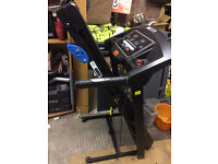 Pro Fitness Fold-Up Treadmill with Speaker / Running Machine (Like new)