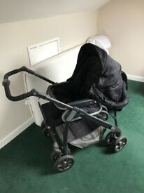 Silver cross 5 in 1 linea pram and car seat