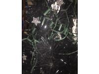 Free black artificial Christmas tree