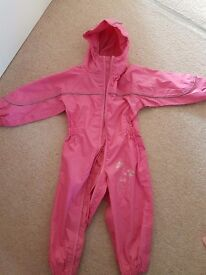 Regatta all in one puddle suit. 18-24 months. Hardly used