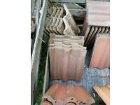 Reclaimed Sandtoft Double Roman Concrete Roof Tiles