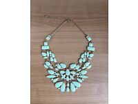 Pale Green Necklace to Embellish Any Dress