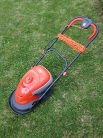 Flymo electric hover vac mower