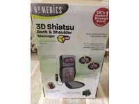Homedics 3D Shiatsu Back and shoulder massager