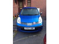 NISSAN NOTE 1.4 5 dr Manual