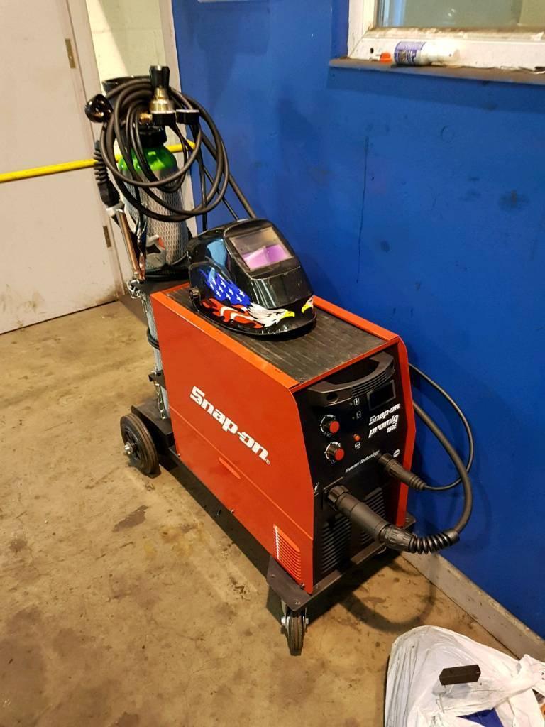 Snap On Pro Mig 180e Inverter Welder In Dundonald