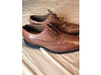 Hush puppies brogues as new size 9.5
