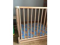 Geuther wooden playpen