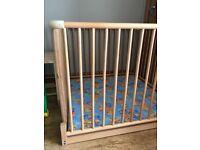 Geuther wooden playpen
