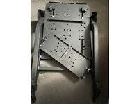 X rocker stand for gaming console racing wheel