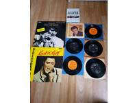 Job lot of Elvis Presley vinyl