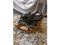 New look BNWT high cork wedge sandals size 6