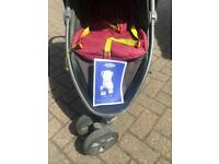 Graco pushchair stroller with rain cover