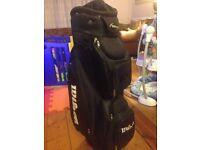 Wilson golf trolley bag black