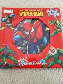 Spiderman puzzle book